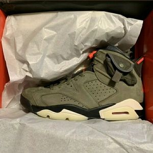 "Air Jordan 6 Travis Scott ""Medium Olive"""